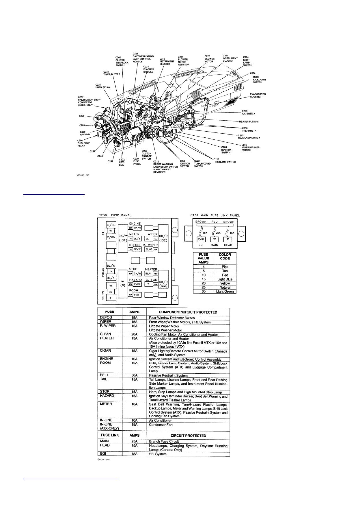 Ford Festiva Fuse Box Wiring Diagram Data 2013 Explorer Simple Diagrams Maverick