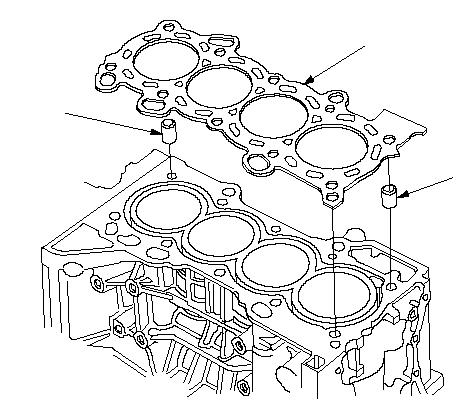Замена головки блока цилиндров хонда аккорд 8 Замена клапанной прокладки хендай i30