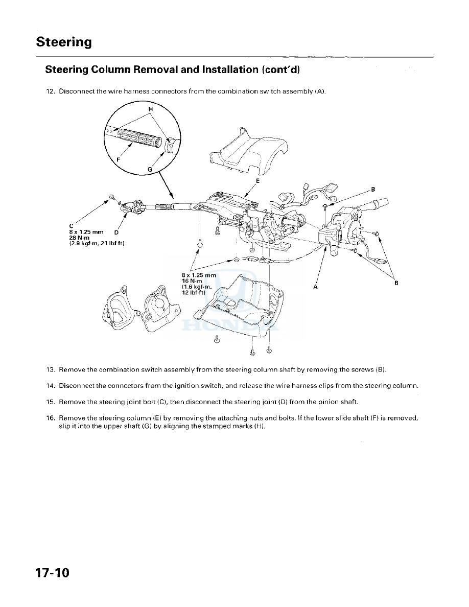 Honda Accord Hybrid Manual Part 303 G Wiring Harness Clip