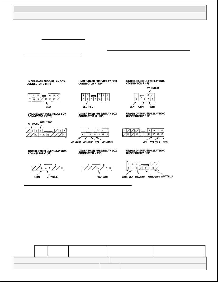 Honda Element Multiplex Fuse Box : Honda element multiplex fuse box wiring library