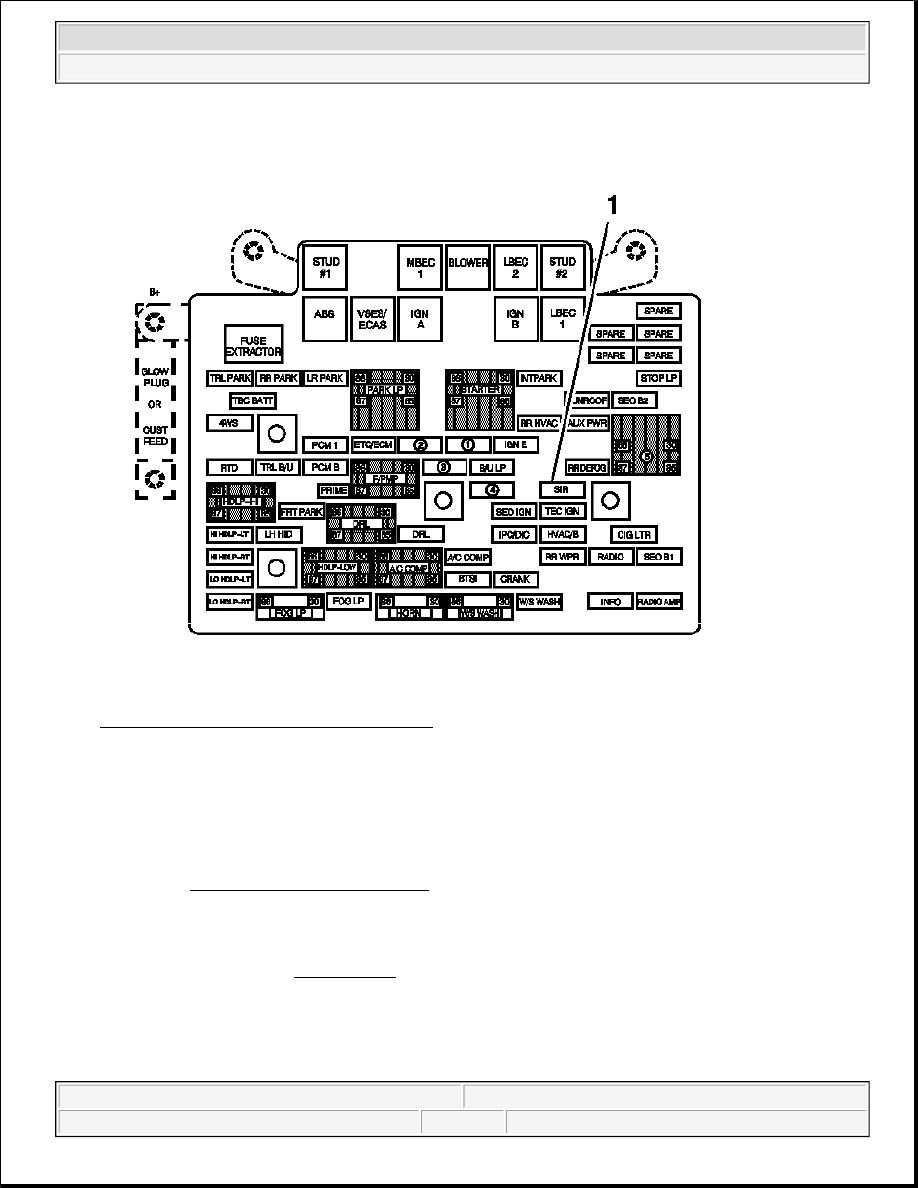 Hummer H2 Fuse Diagram For Blower Simple Wiring Headlight Manual Part 2070
