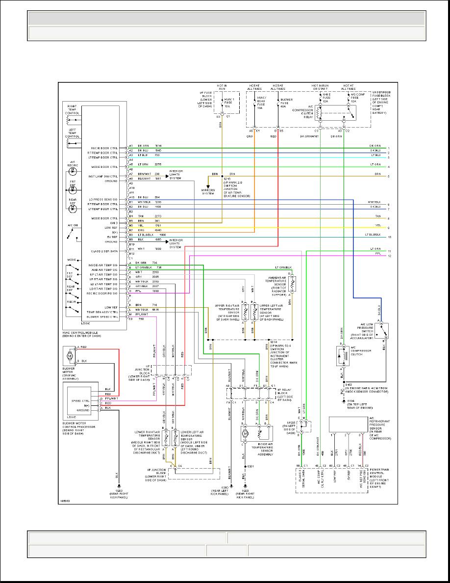 Hummer H2 Manual Part 1225 Wiring Diagram 2004 System Diagrams