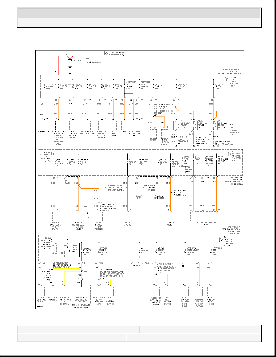 Hummer H3 Manual Part 701 Fuse Diagram 2008