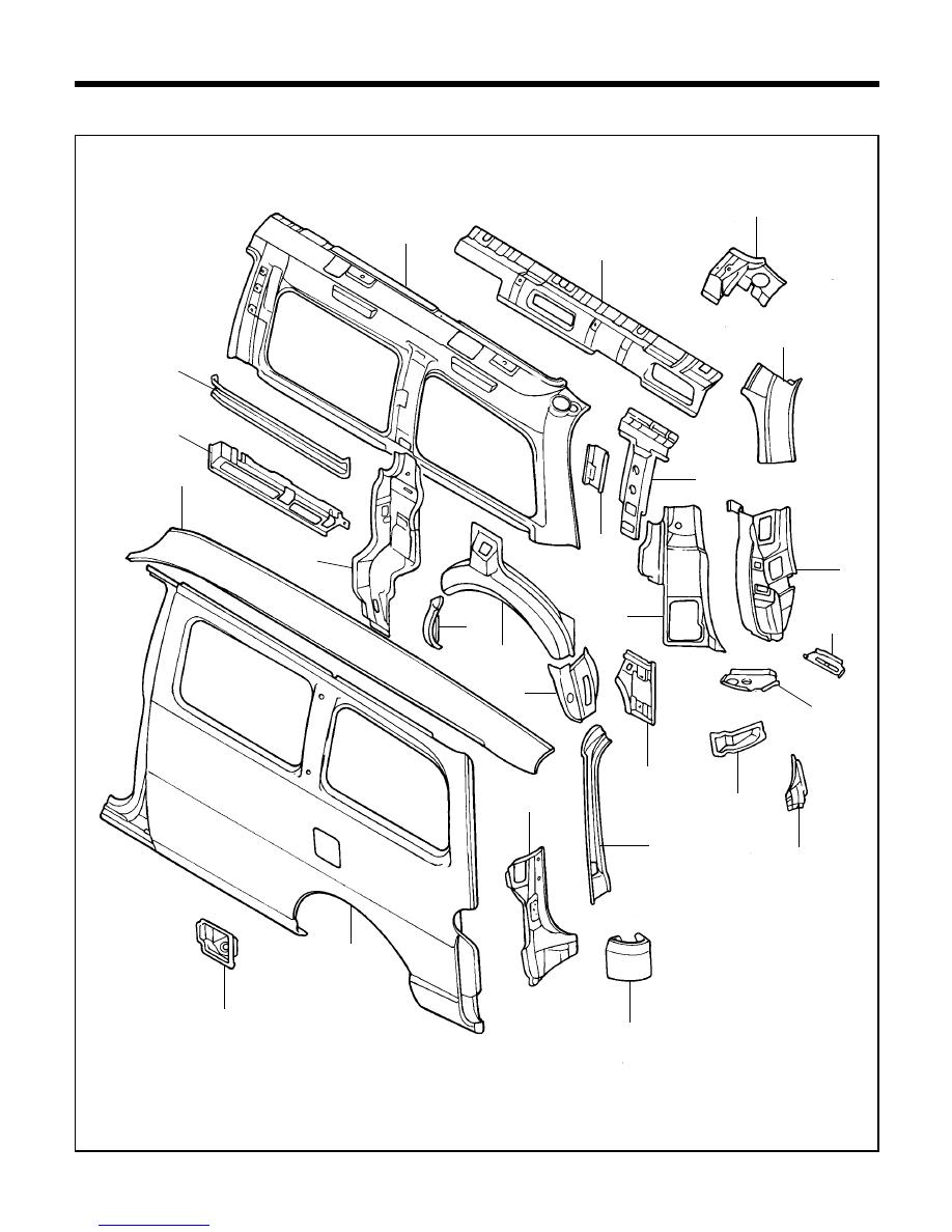Hyundai H1  Body Repair Manual
