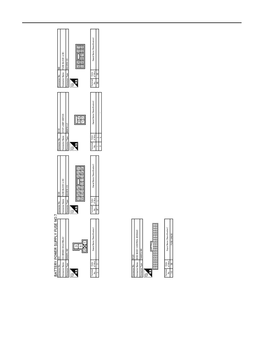 Infiniti Ex35 Manual Part 1163 2008 Fuse Box