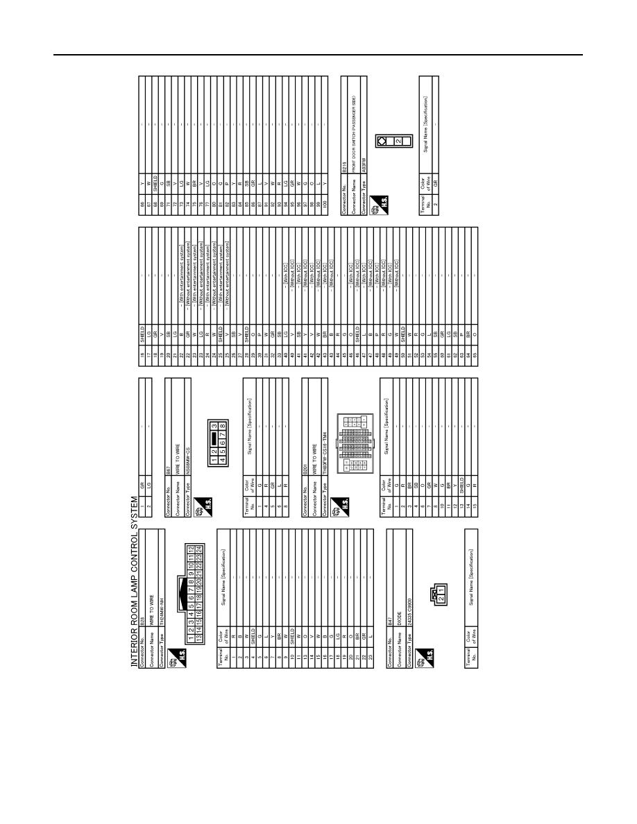 Infiniti Fx35 Fx50 S51 Manual Part 1229 Icc Wiring Diagram