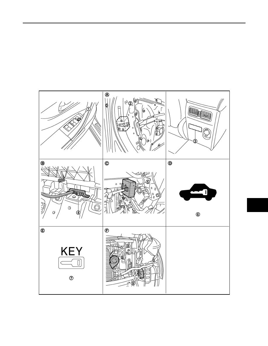Infiniti Fx35 Fx50 S51 Manual Part 1650 Smart Key