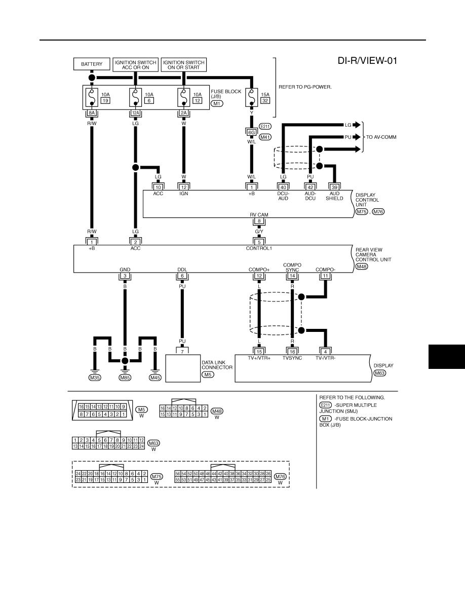 Infiniti FX35 / FX45. Manual - part 307Zinref.ru