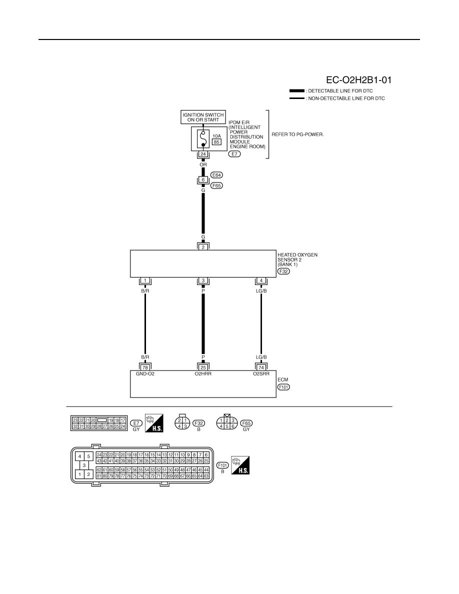 Infiniti Fx35 Fx45 Manual Part 350 E7 Engine Diagram Ec 162