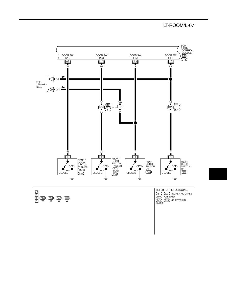 Infiniti Fx35 Fx45 Manual Part 814 Tail Light Wiring Diagram