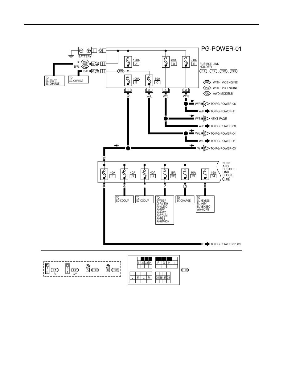 Infiniti Fx35 Fx45 Manual Part 842 Fx Fuse Box Pg 4