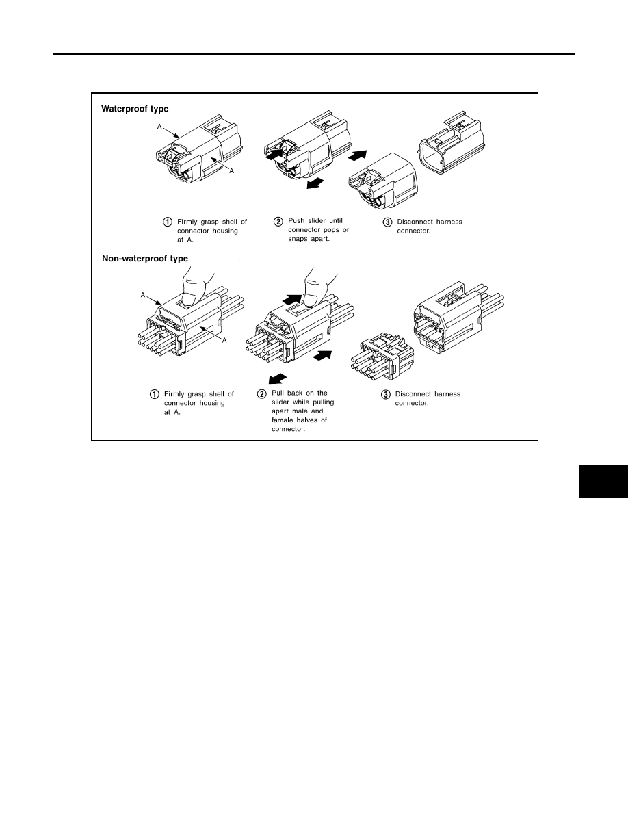 Fx35 Infiniti Wiring Harness Connectors Diagram
