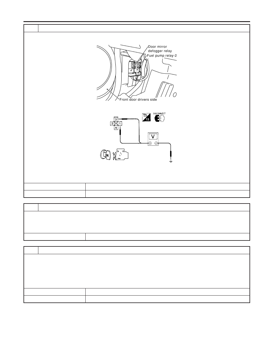 Infiniti G20 P11 Manual Part 299 Fuel Pump Diagram 5