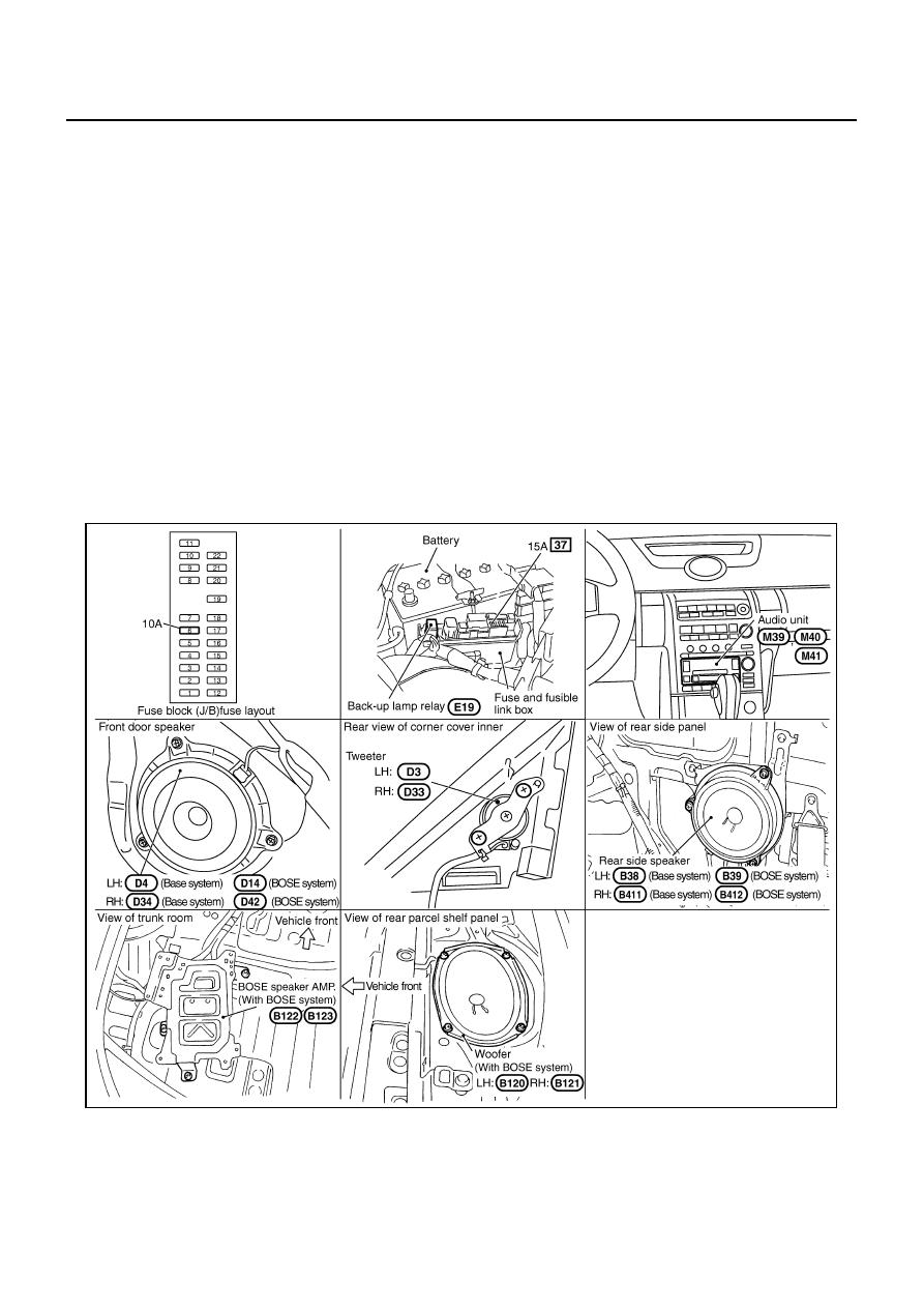 Infiniti G35 V35 Manual Part 123 Fuse Box In Av 8