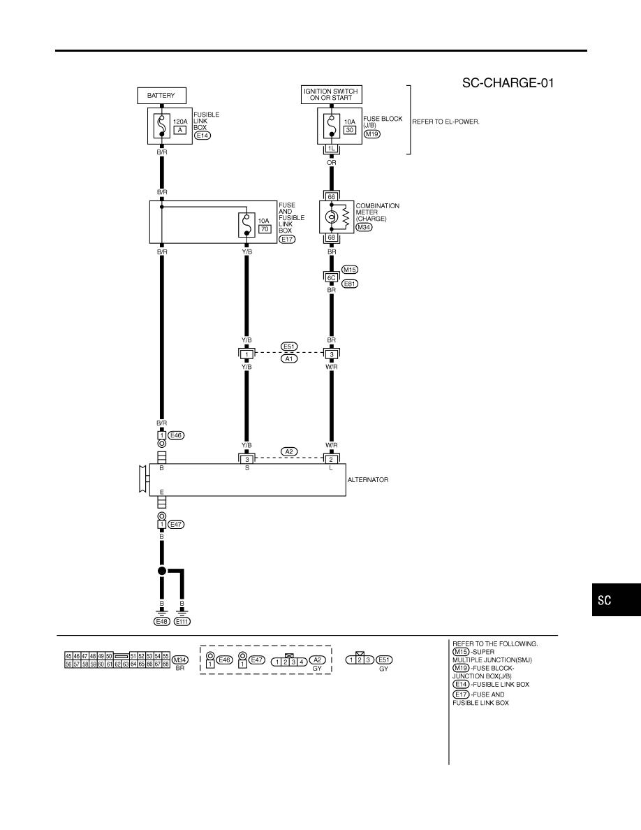 infiniti alternator wiring diagram wiring library infiniti alternator wiring diagram