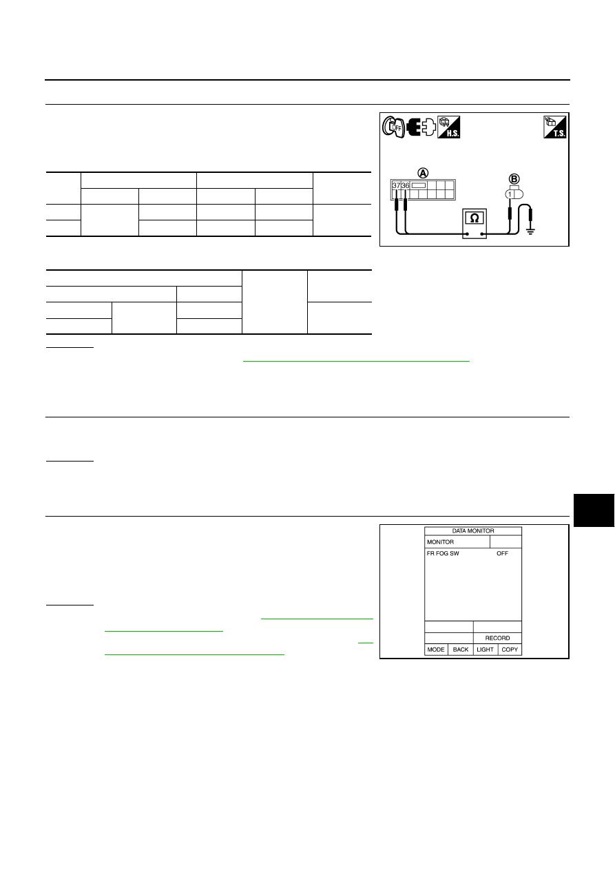 M45 Fog Light Bulb Wiring Diagram Electrical Diagrams Infiniti Lights M35 Y50 Manual Part 916 Switch