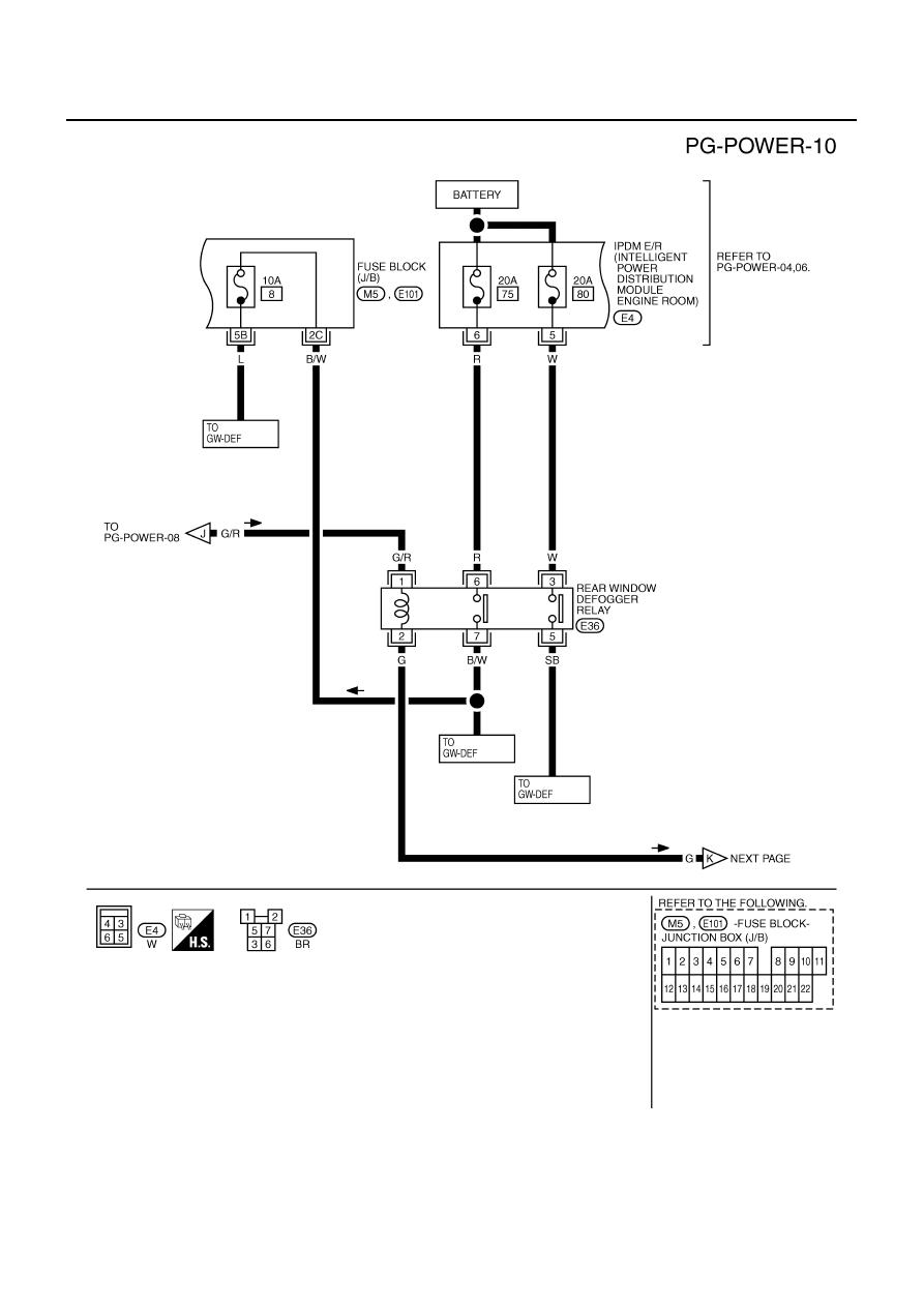 Infiniti M35 M45 Y50 Manual Part 967 Fuse Box For Pg 14