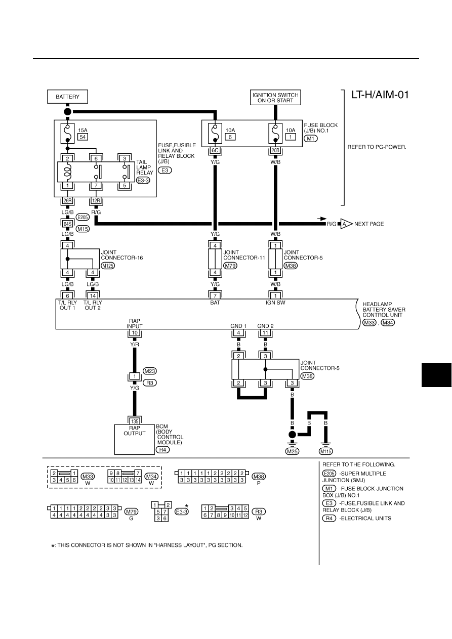 Infiniti M45 Fuse Diagram 2006 Box Wire Diagrams For M35 Y34 Manual Part 642 2003