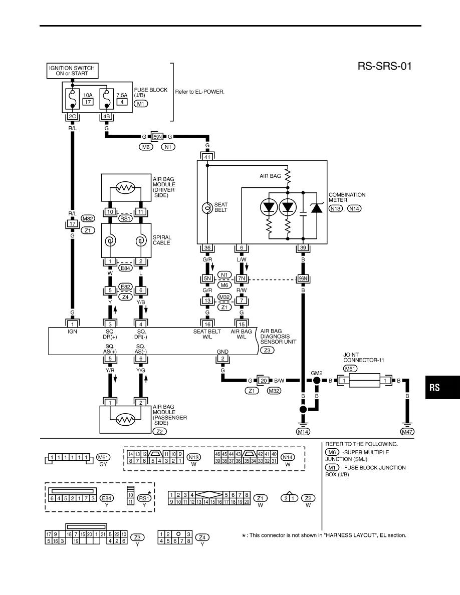 Infiniti Q45 (FY33). Manual - part 530Zinref.ru