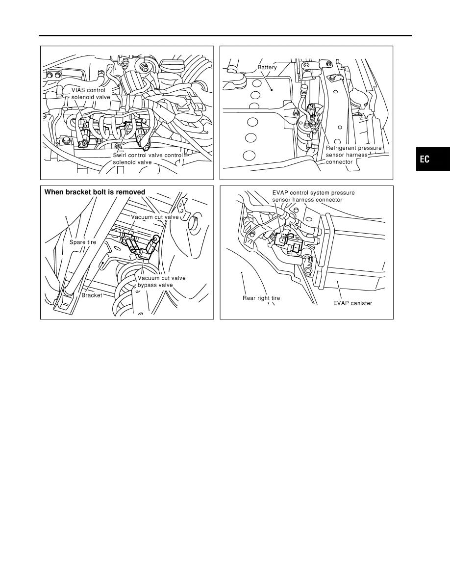 Infiniti Qx4 R50 Manual Part 139 Vacuum Diagram