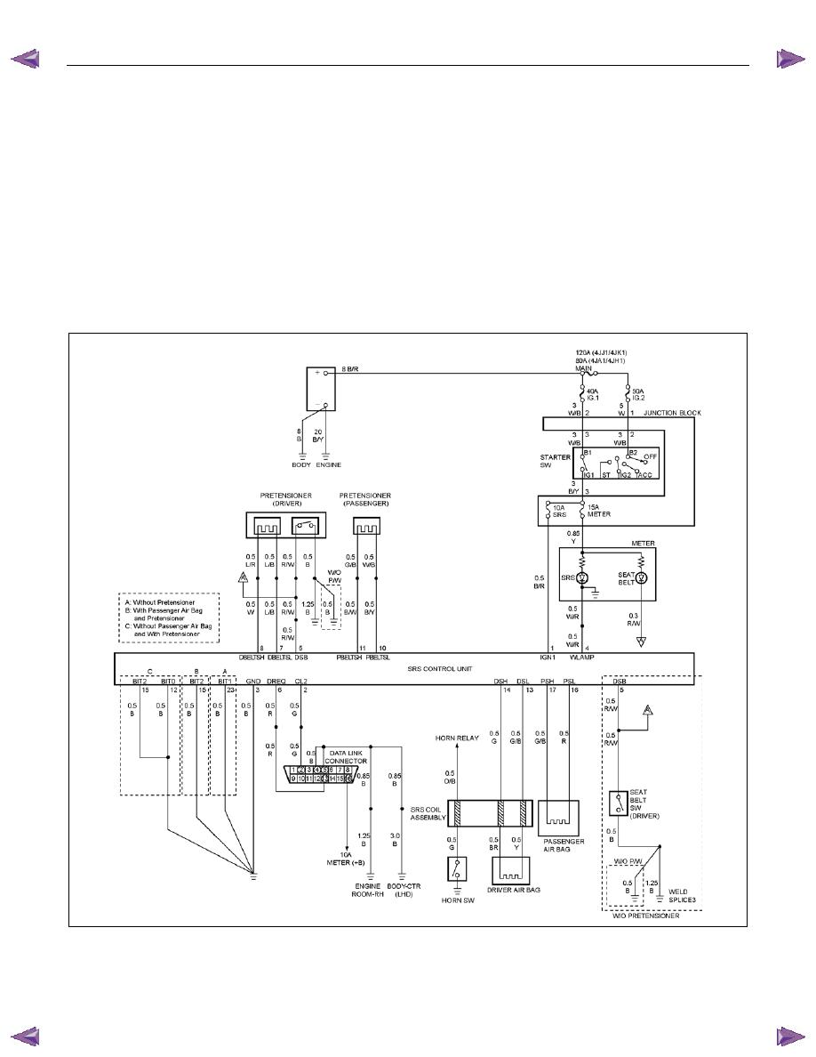 Isuzu KB P190. Manual - part 1410Zinref.ru