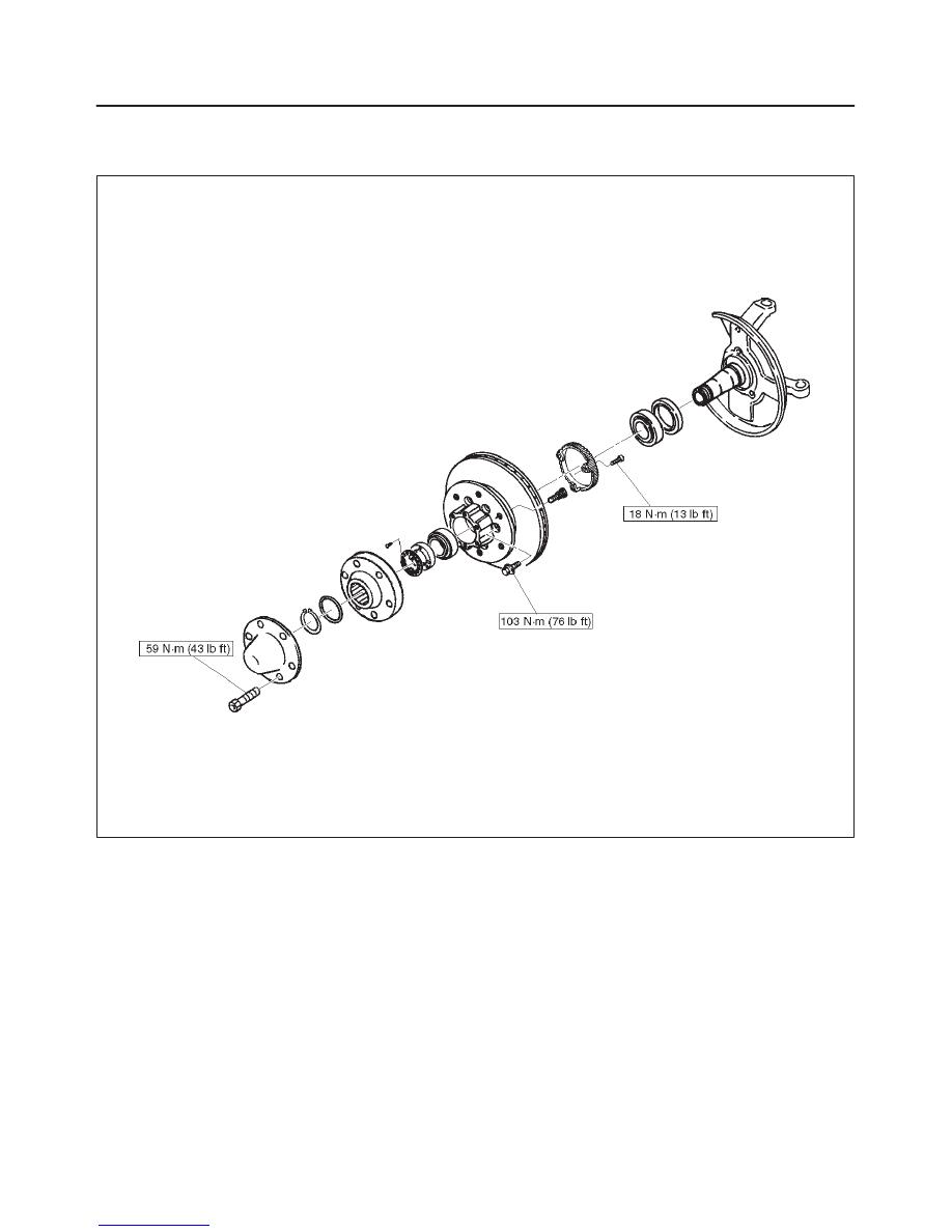 isuzu trooper (2000 year) manual part 122
