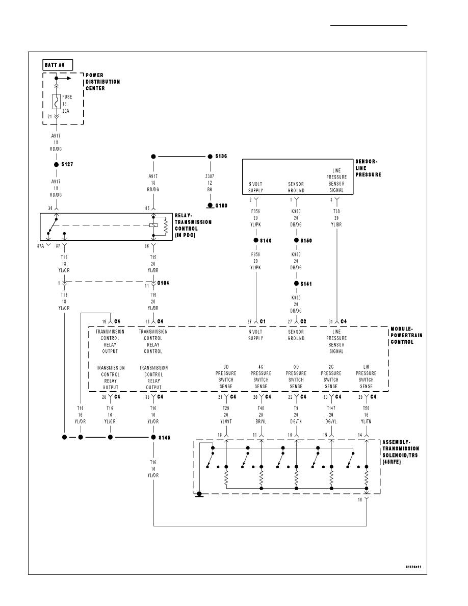 545rfe Wiring Diagram Schematics Wk Grand Cherokee Jeep Manual Part 1350 Problems