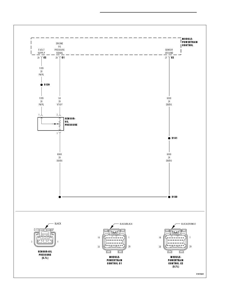 Jeep Grand Cherokee WK. Manual - part 997 2 wire oil pressure switch wiring diagram Zinref.ru