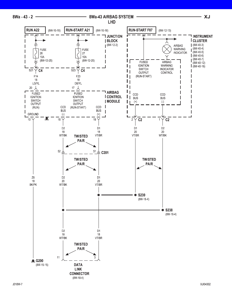Jeep Xj Manual Part 721 01 Cherokee Ignition Switch Wiring Diagram