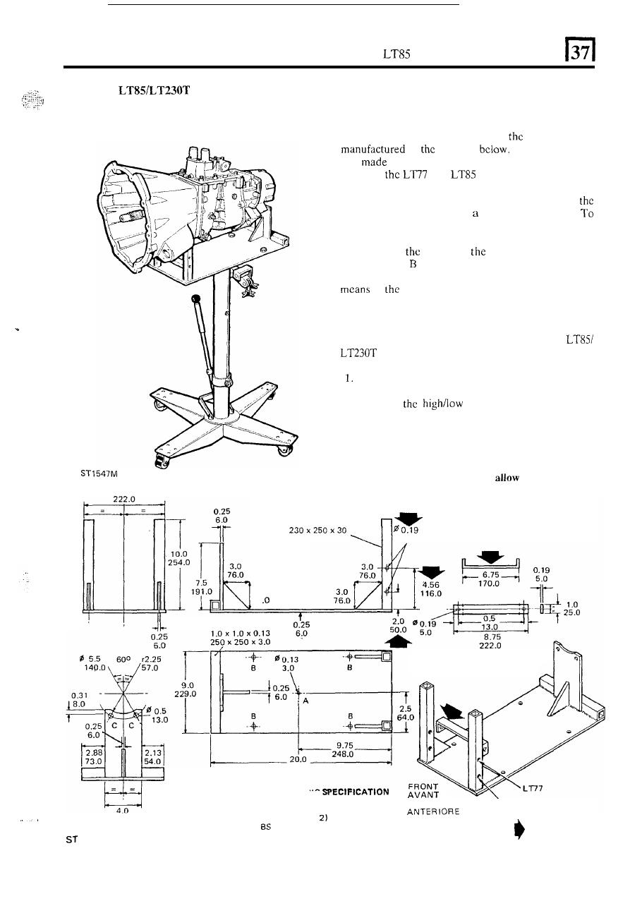 lt77 gearbox overhaul user manuals