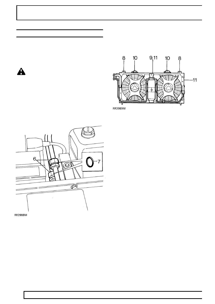 Land Rover Discovery Radiator Diagram