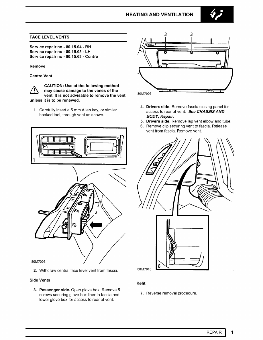 Range Rover  Manual - part 472