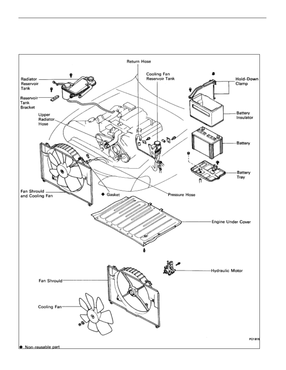 [FPWZ_2684]  Lexus SC300 / Lexus SC400. Manual - part 328 | Lexus Engine Cooling Diagram |  | Zinref.ru