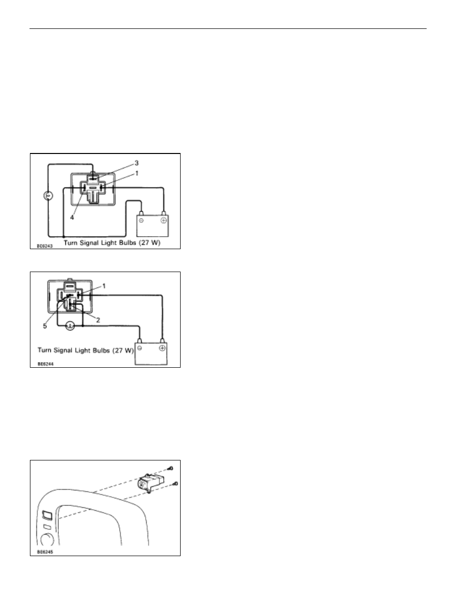 parts inspection (turn and hazard) (combination switch assembly)