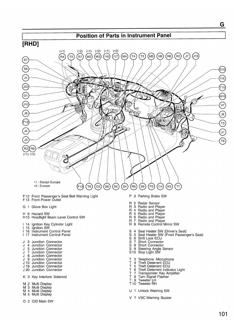 lexus 2000 rx300 manual