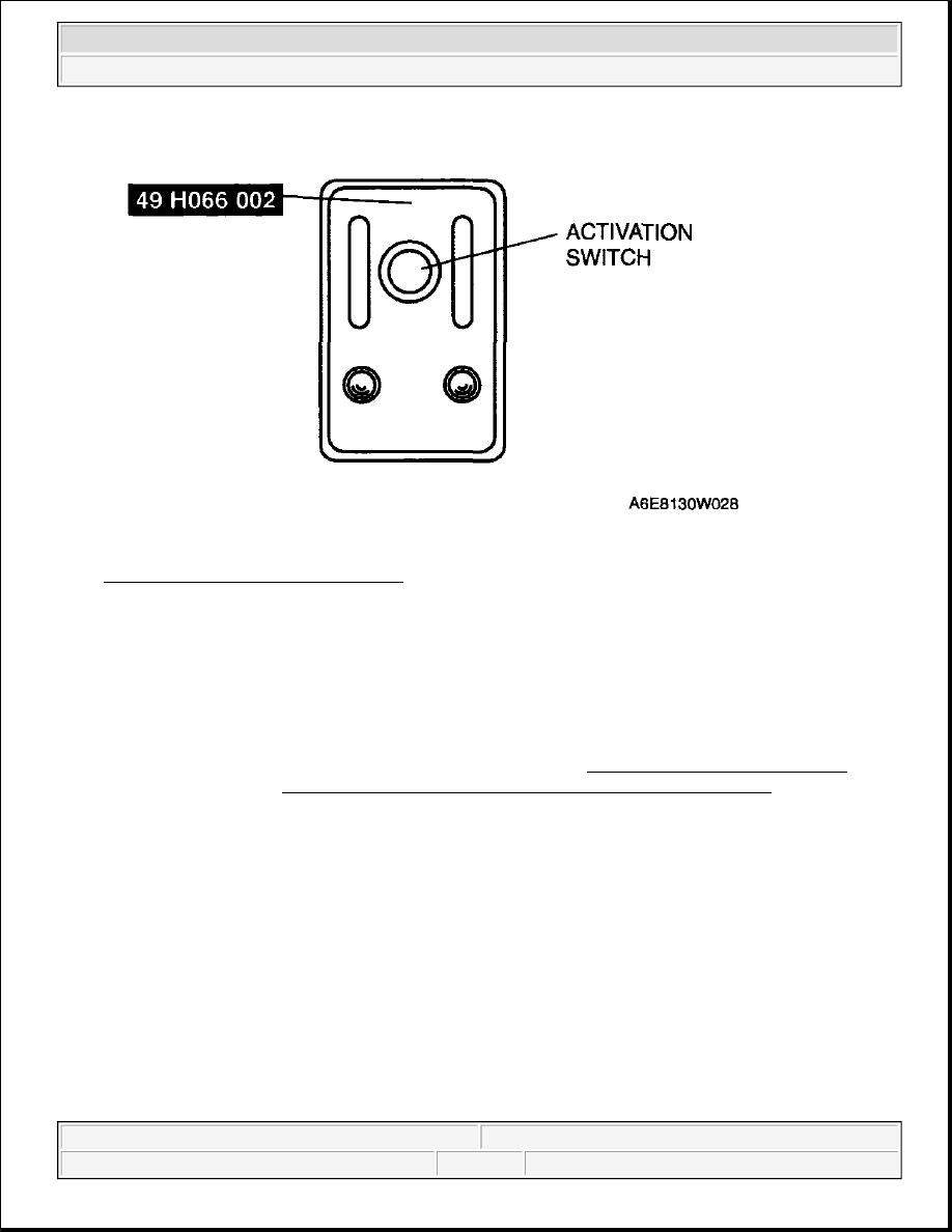 Mazda 3 Service Manual: Air Bag Module And Pre Tensioner Seat Belt Deployment Procedures Two Step Deployment Control System