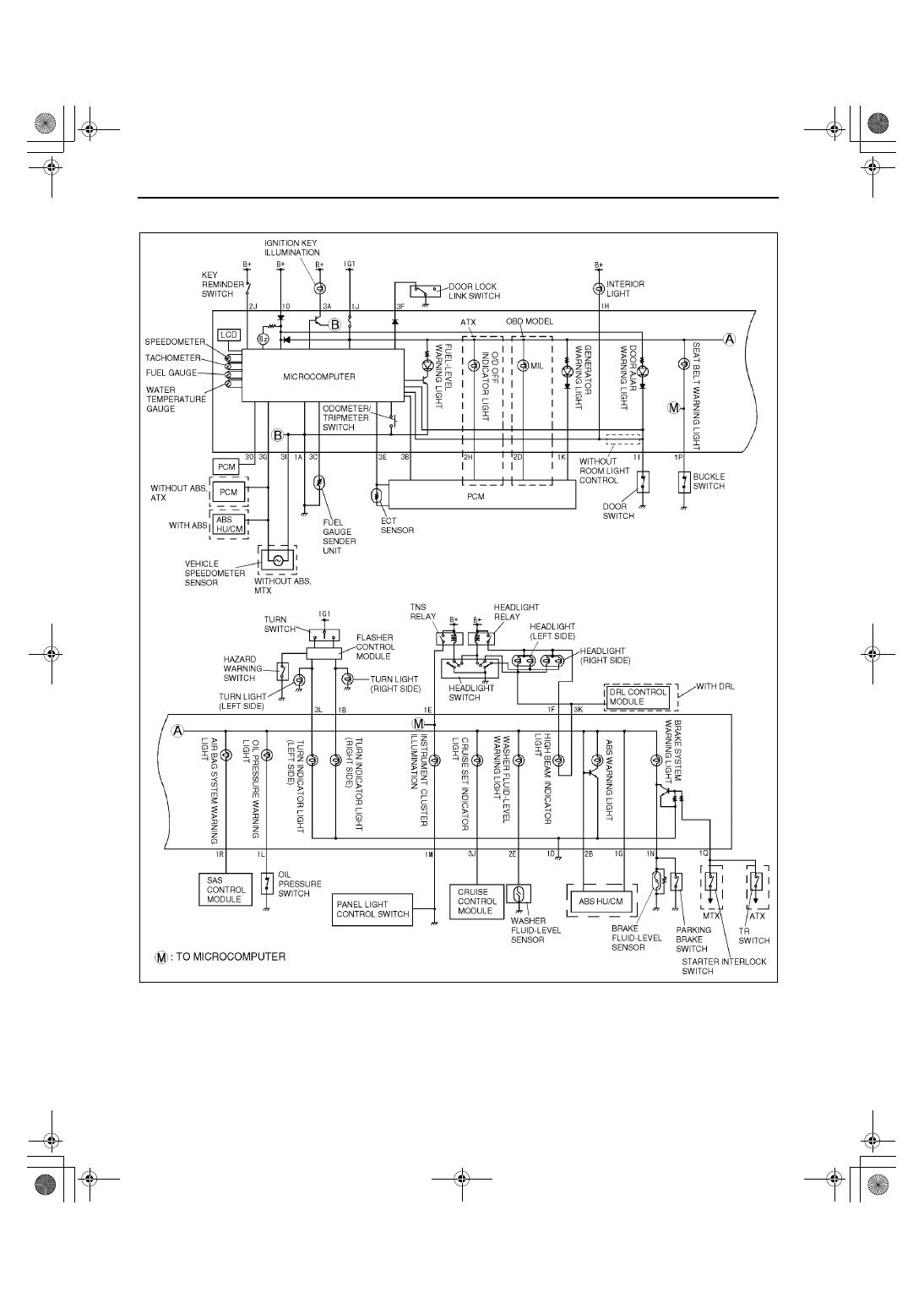 Mazda 3 Service Manual: Instrument Cluster DisassemblyAssembly