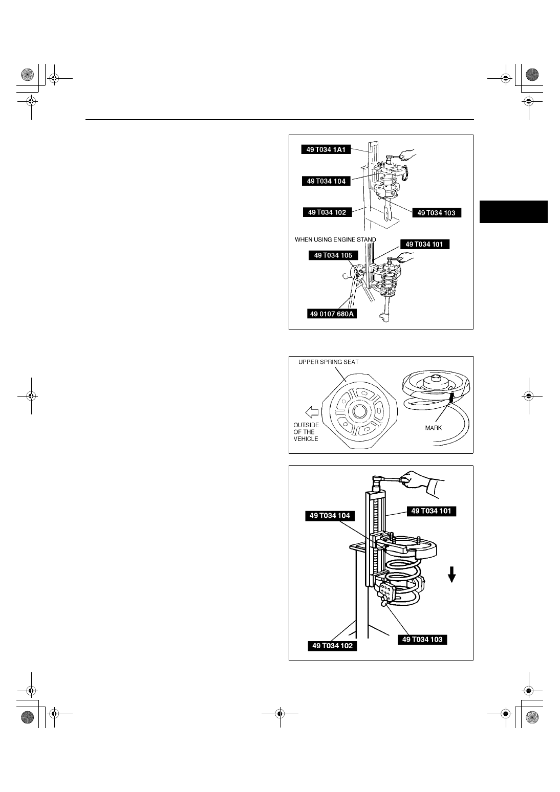 Mazda 3 Service Manual: Front Lower Arm RemovalInstallation