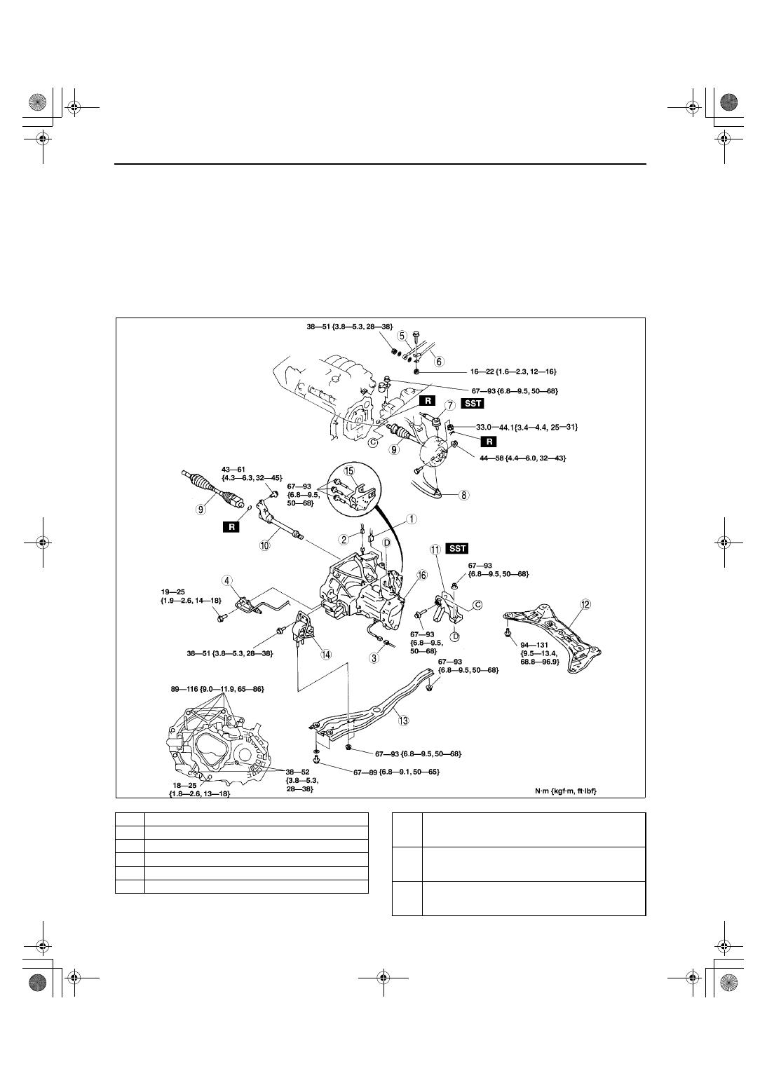 mazda protege 5 manual part 246 rh zinref ru Transaxle Assembly Transaxle Assembly