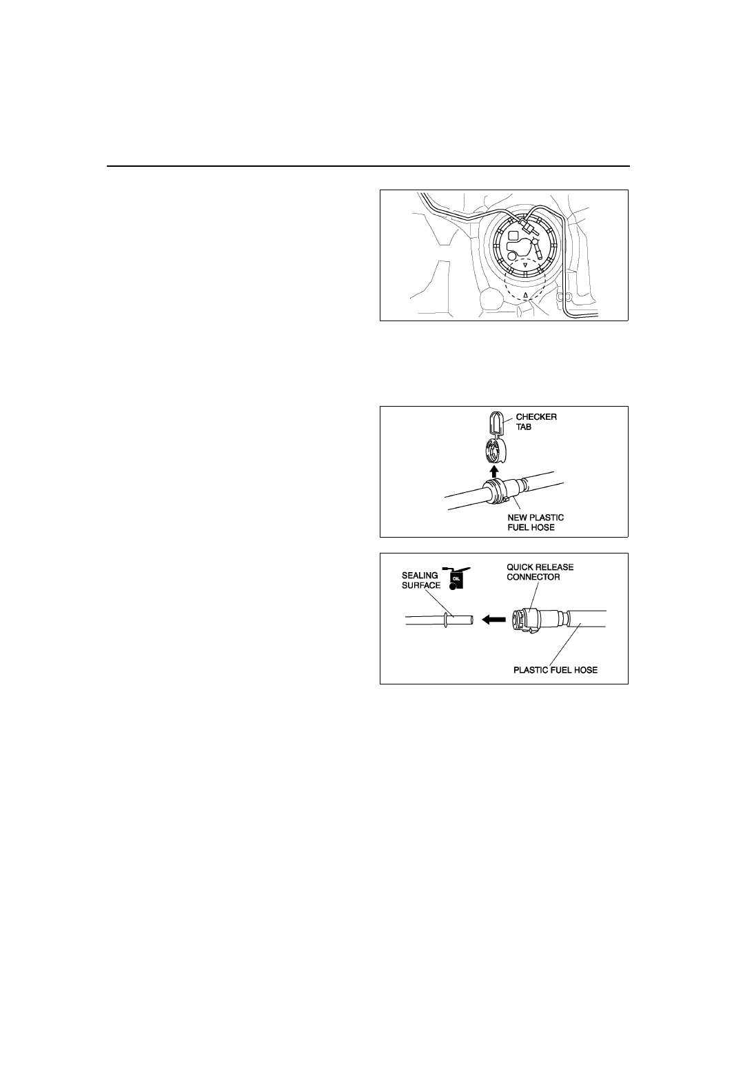 Mazda 3 Service Manual: Fuel Filler Lid Opener And Lever RemovalInstallation