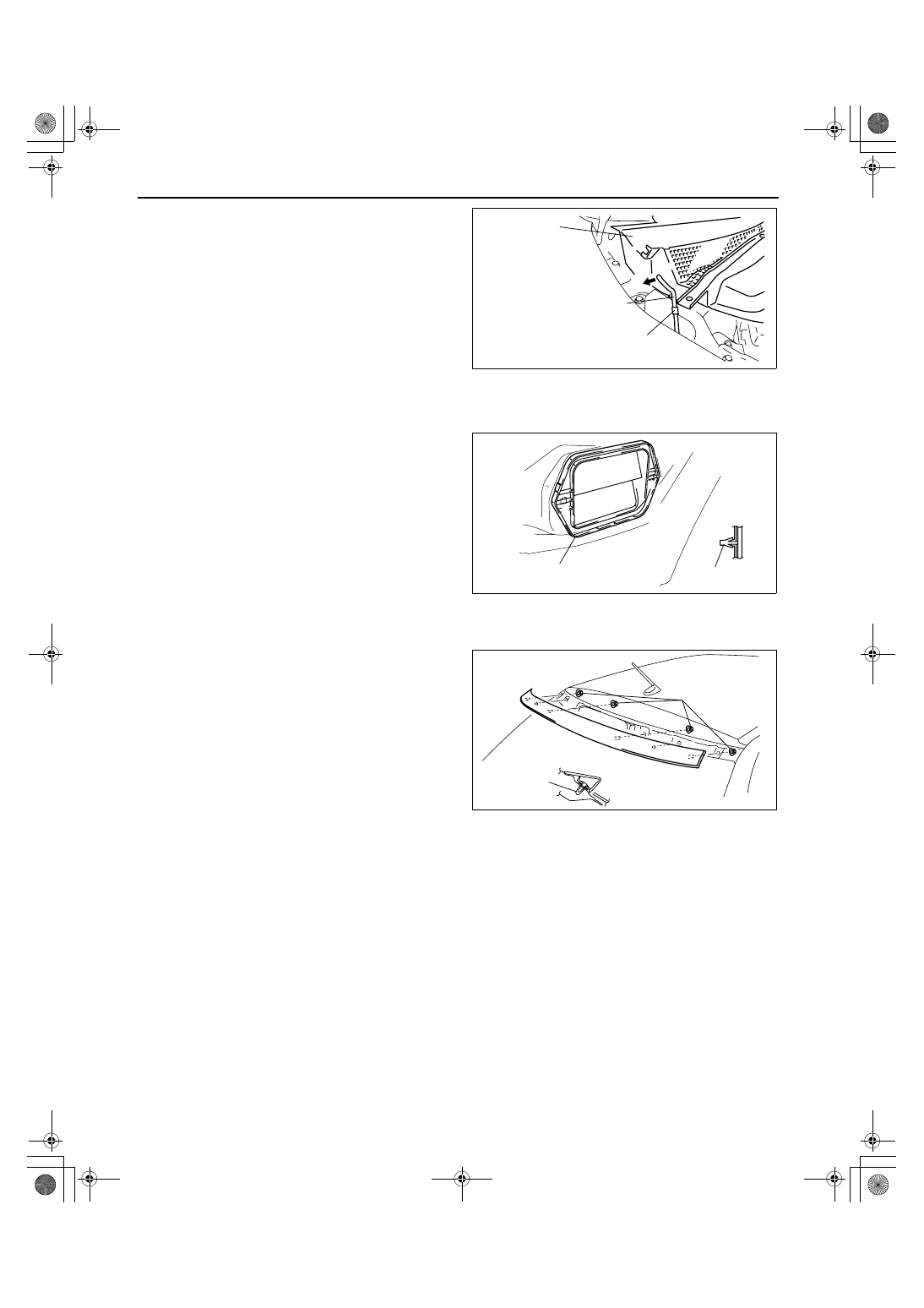 Mazda 3 Service Manual: Sunvisor RemovalInstallation