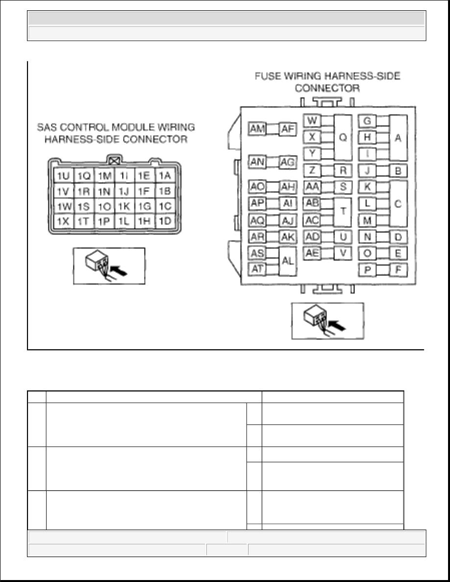 Mazda Cx 9 Grand Touring Manual Part 18 Wiring Harness Diagnostic Procedure