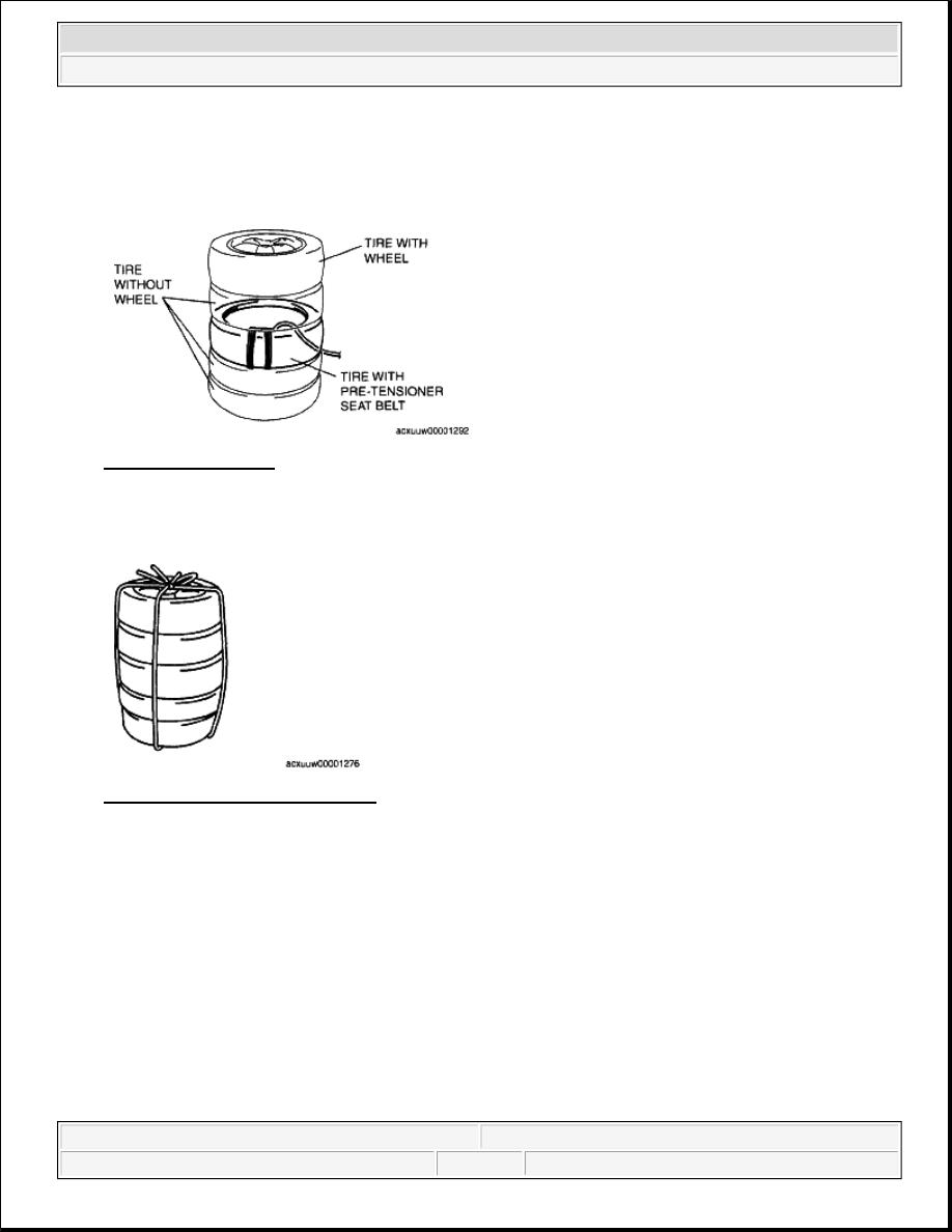 Mazda 3 Service Manual: Side Air Bag Sensor No. 1 RemovalInstallation Two Step Deployment Control System