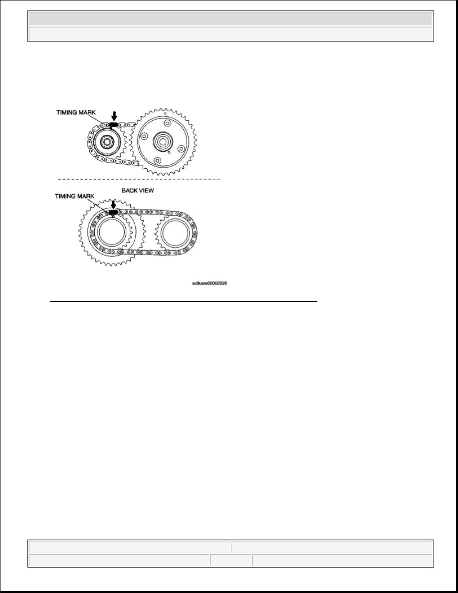 Mazda Cx 9 Grand Touring Manual Part 358 2008 6 Timing Marks Sprockets Of Both Banks