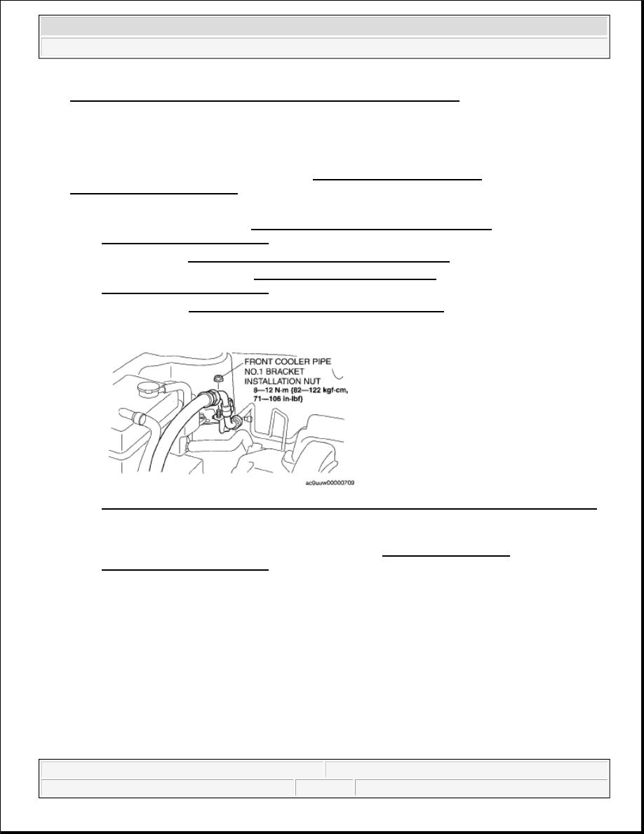 Mazda 3 Service Manual: Expansion Valve RemovalInstallation