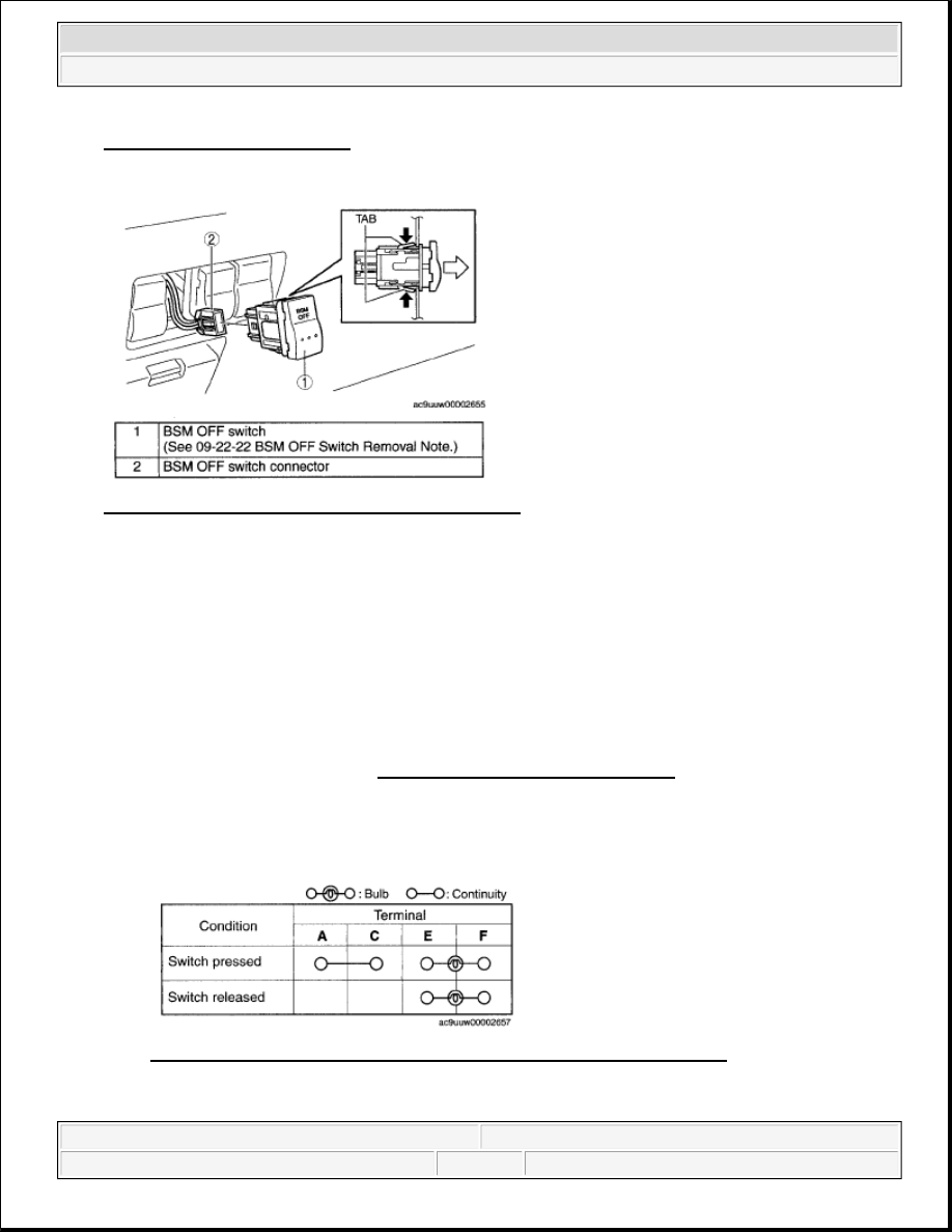 Mazda 3 Service Manual: Combination Switch RemovalInstallation