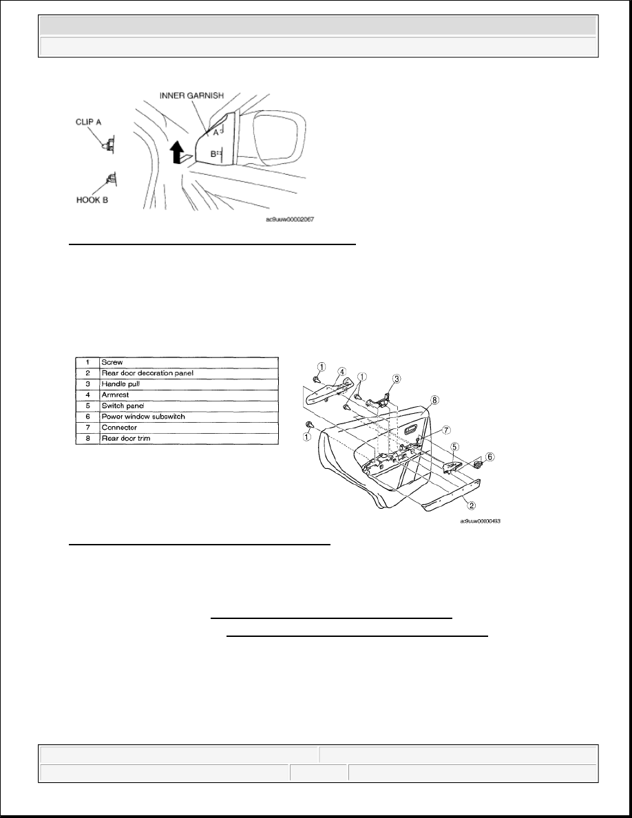 Mazda 3 Service Manual: Front Seat Cushion Trim RemovalInstallation