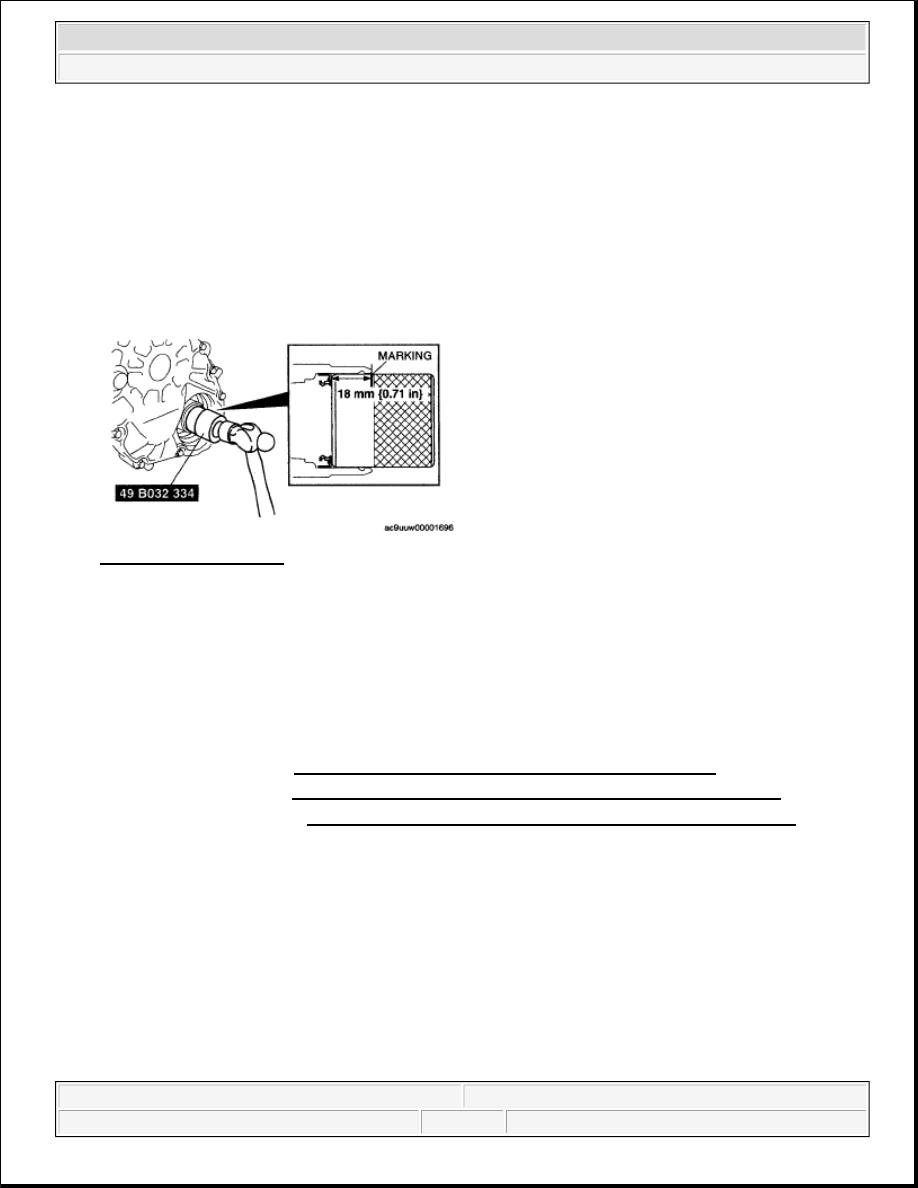 Mazda 3 Service Manual: Deflector RemovalInstallation