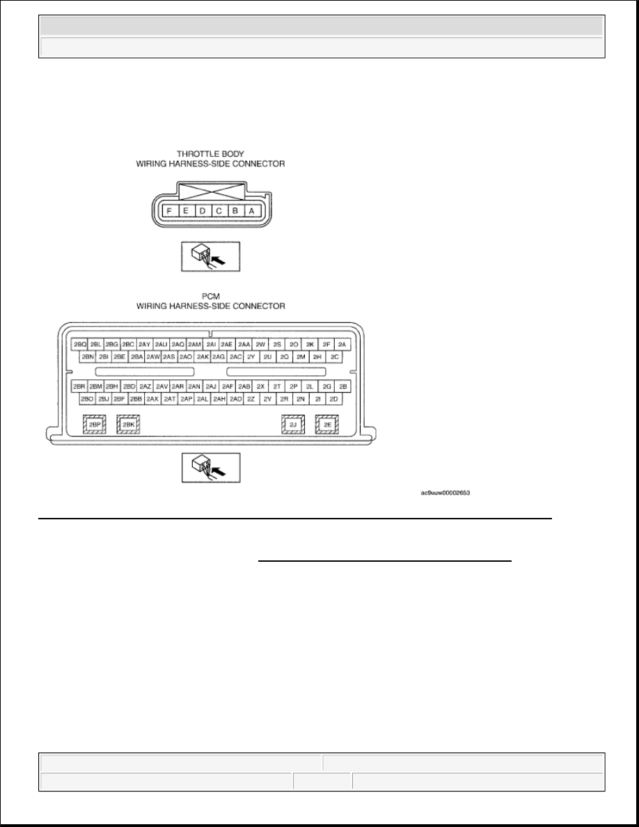 Mazda Cx 9 Grand Touring Manual Part 210 Throttle Position Sensor Wiring