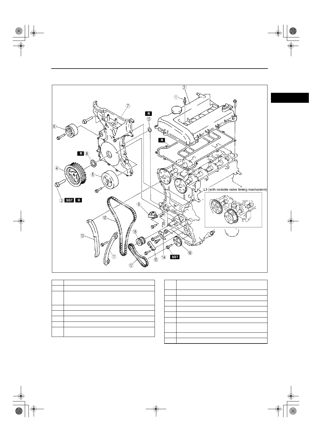 Mazda Engine L8 Lf L3 Manual Part 5 Valve Timing Diagram